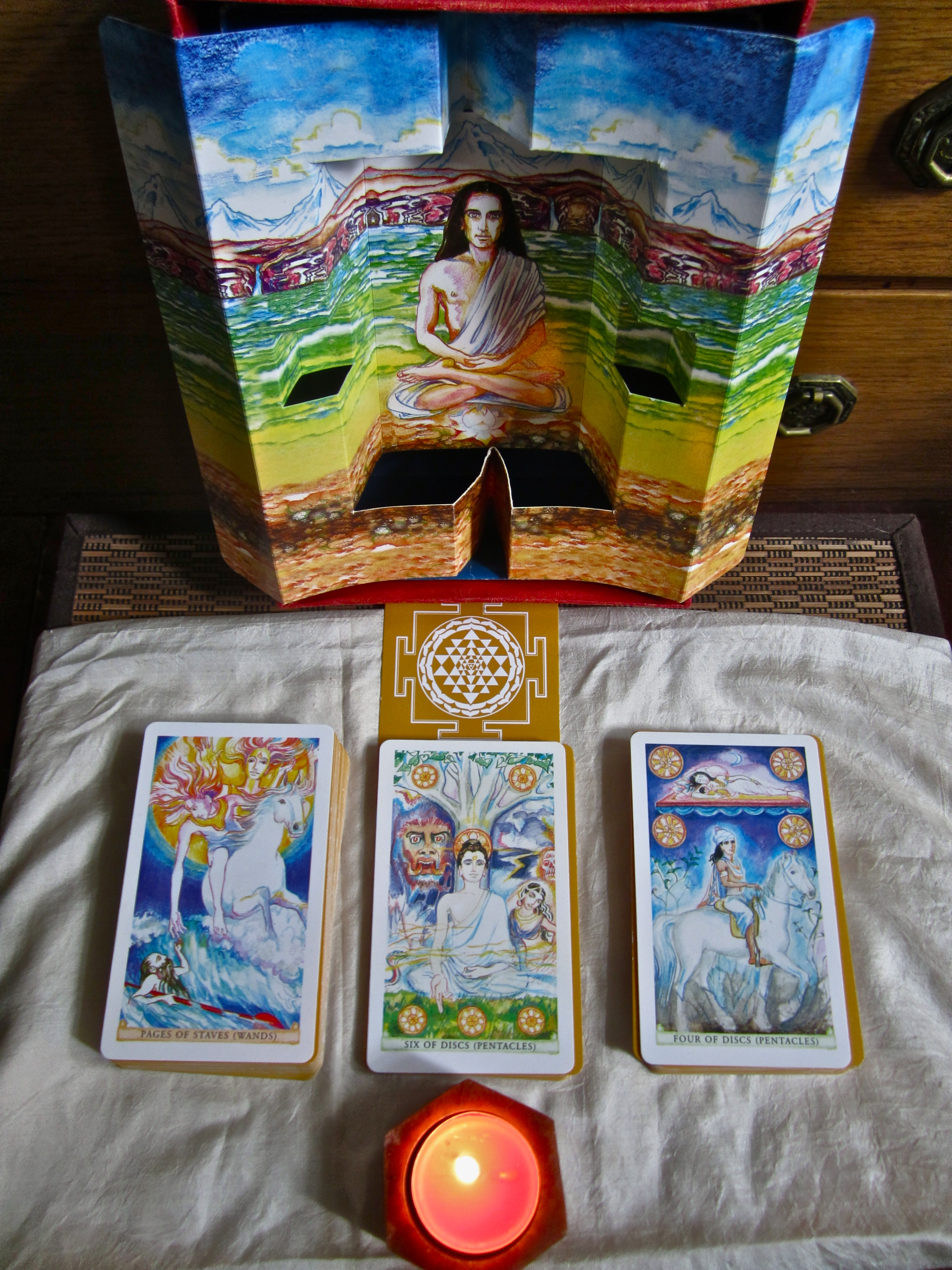The Sacred India Tarot – Pictures Of The Deck