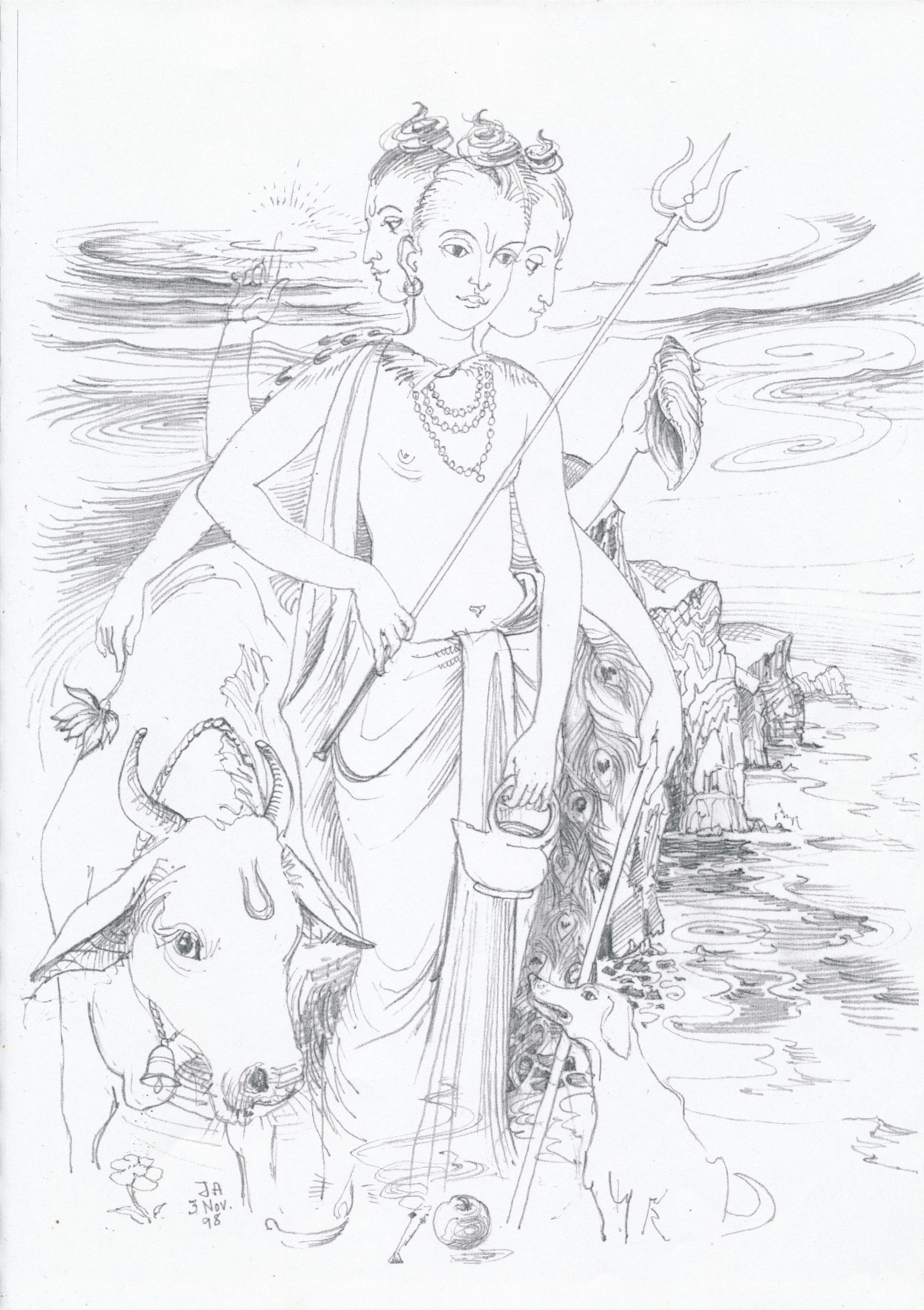 jyotish  u2013 drawings of the vedic astrology deities