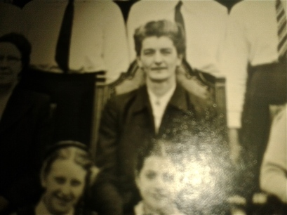 Mary Craig at Wade Deacon School, circa 1952