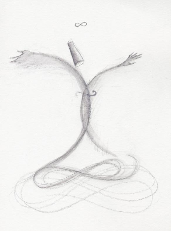 Dervish Dance Drawing Winter Solstice Dervish
