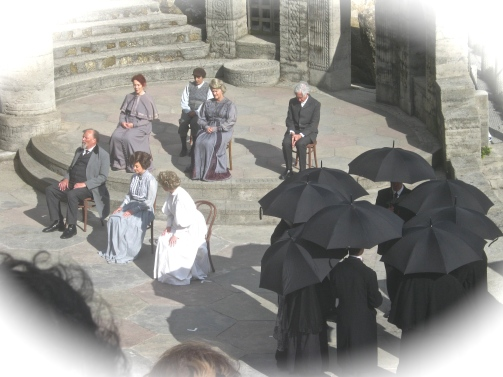 theatre at Tintagel