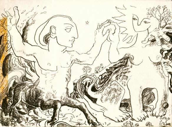 Hermes & Pythoness