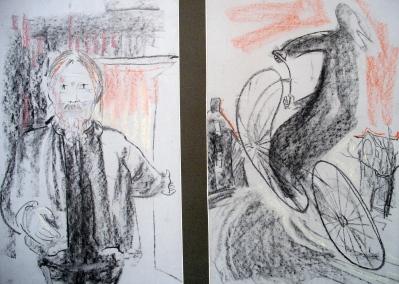 Visiting Alexander Pollock - ja 1986