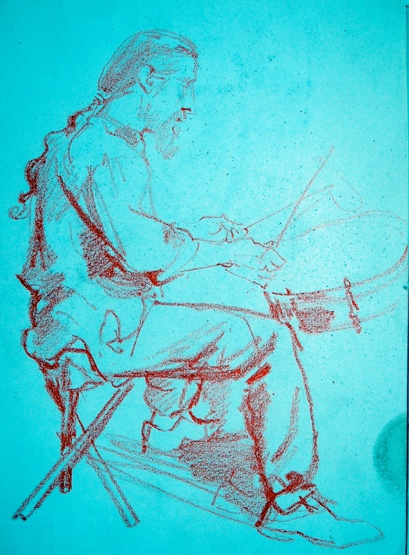 Alexander pollock drumming - ja 1986