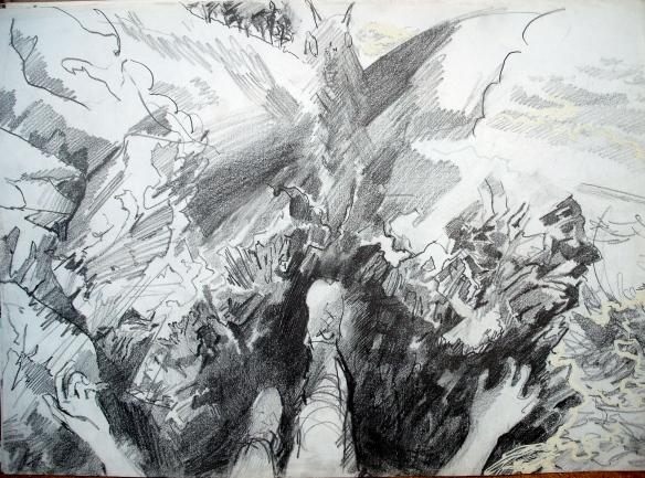 Crevassemoth Ally - Sketch