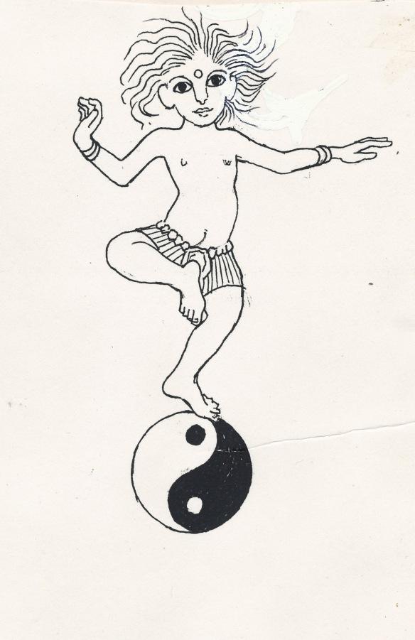 Lord Siva on his Tao