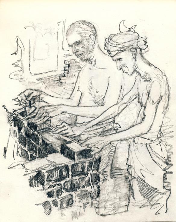 ramana & annamalai brick laying
