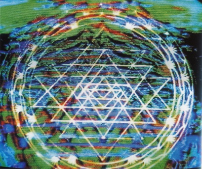 Sri Chakra colour-sound vibration