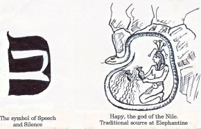 Symbol of speech & silence