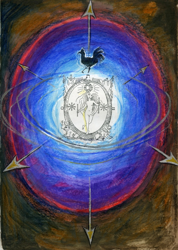 World tarot compass