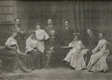 9 Lonie & other students with Emil Sauer