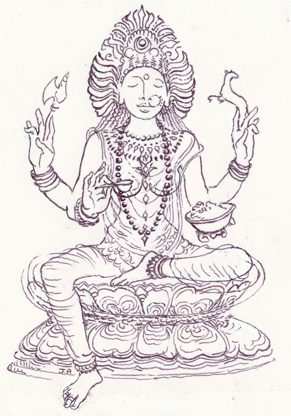 Goddess Annapurna, the fruits of earth
