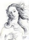 Aphrodite after Botticelli