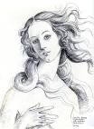 Aphrodite after Botticelli