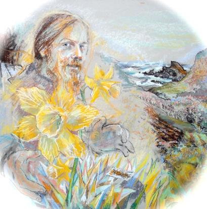 daffodils in Alex Pollock