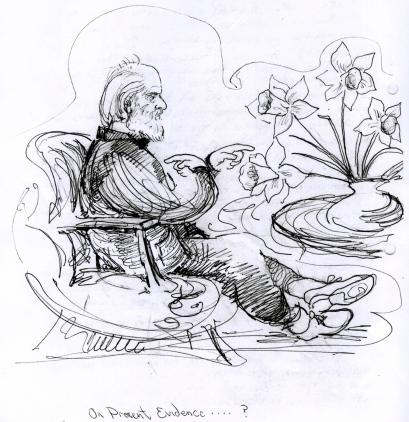 Daffodils in Douglas Harding