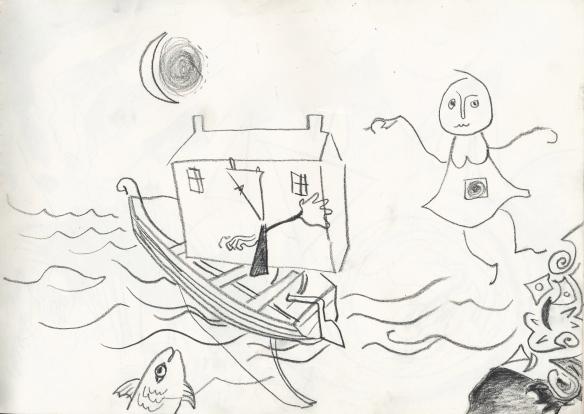 fragmenting house & dreamer, 1987