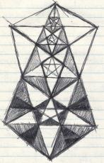 Kabbalah 1989 pentagramic pattern