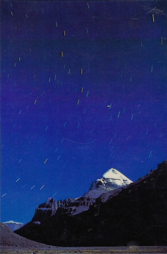 Kailas sacred mountain