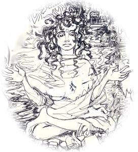 Parvati pestered - detail