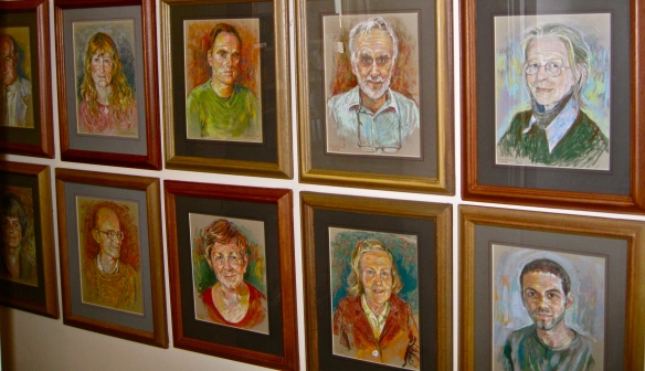 Portrait gallery for Human Rights Foundation