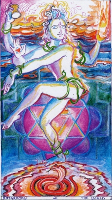Sacred India Tarot Natarajan