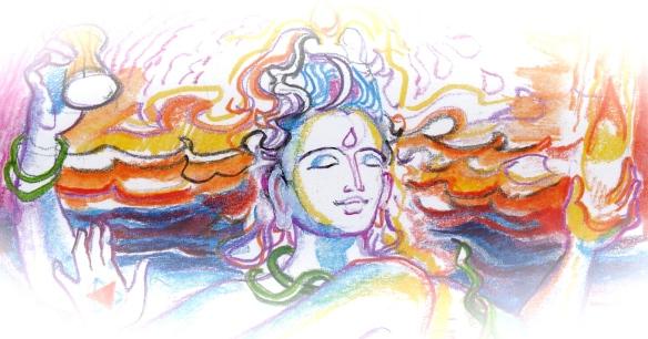 Sacred India Tarot Natarajan world detail