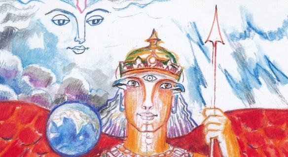 SITA Indra & Garuda detail