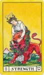 Tarot key 8, Strength