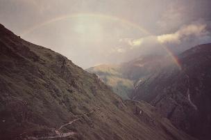 15 himalaya trail and rainbow