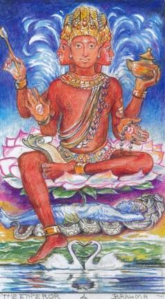 Brahma granthi (Sacred india Tarot)