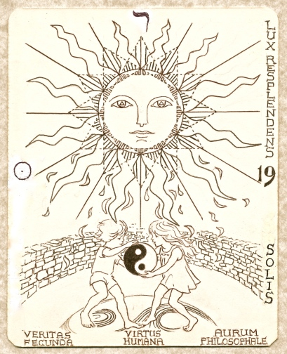 Tarot Arcanum 19 - the Sun