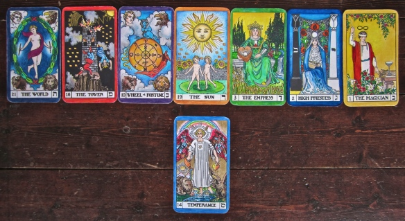 7 Tarot Keys and Temperance