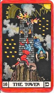 Sacral Chakra - Tarot Key 16 The Tower - Mars