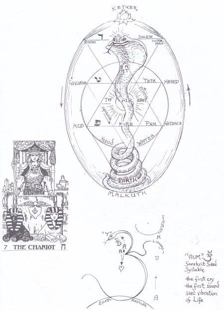 serpent OM: Kundalini shakti
