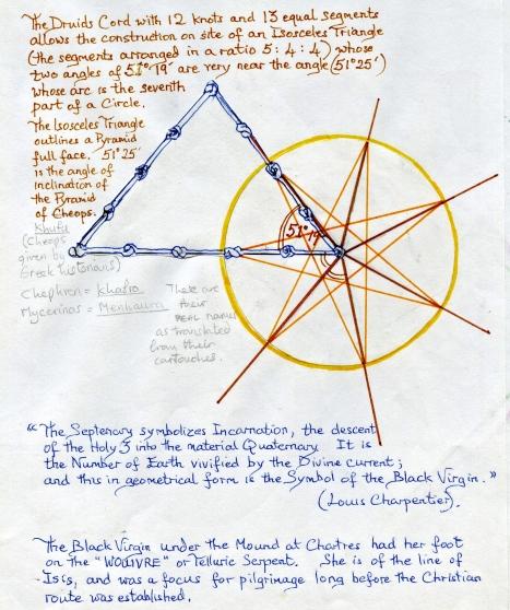 (9) Seven Branch Star