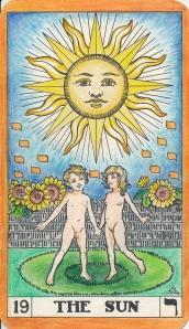 Heart Chakra: Key 19 The Sun - Sun