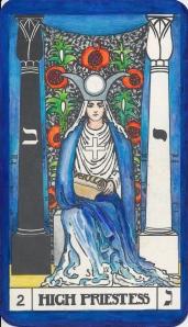 Third eye Chakra, Key 2 The Priestess - Moon