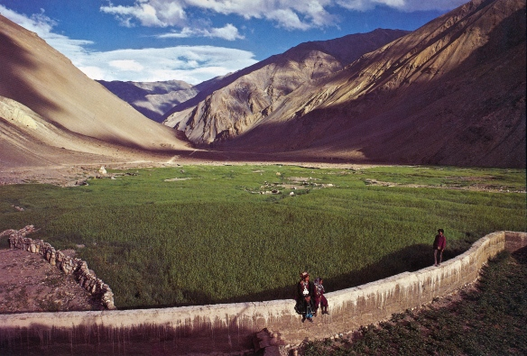 near Tibet - photo by Ashvin Mehta, Encounters with Eternity 1985