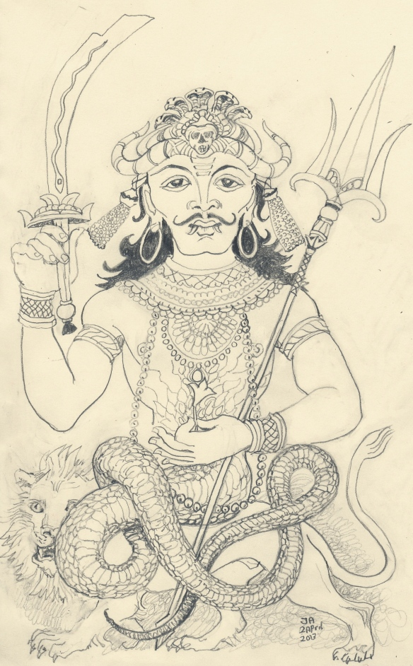 Rahu, north node