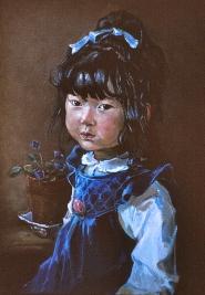 12a Little Japanese girl