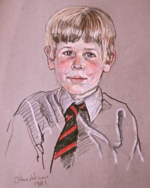 8a Blond schoolboy