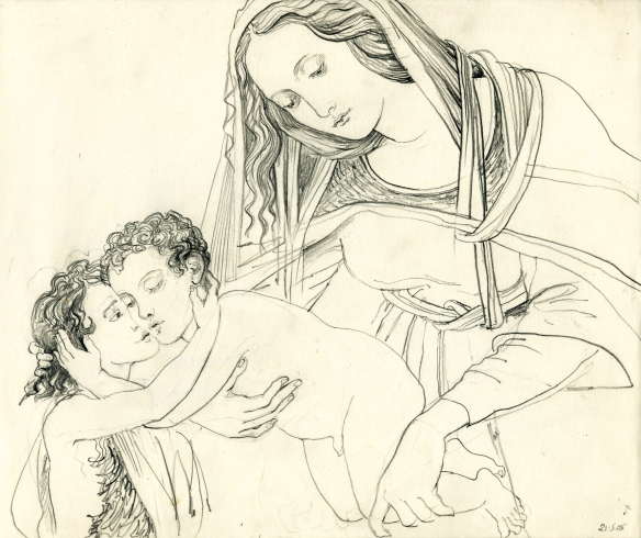 Copy - Botticelli Madonna & two brats - circa 2007