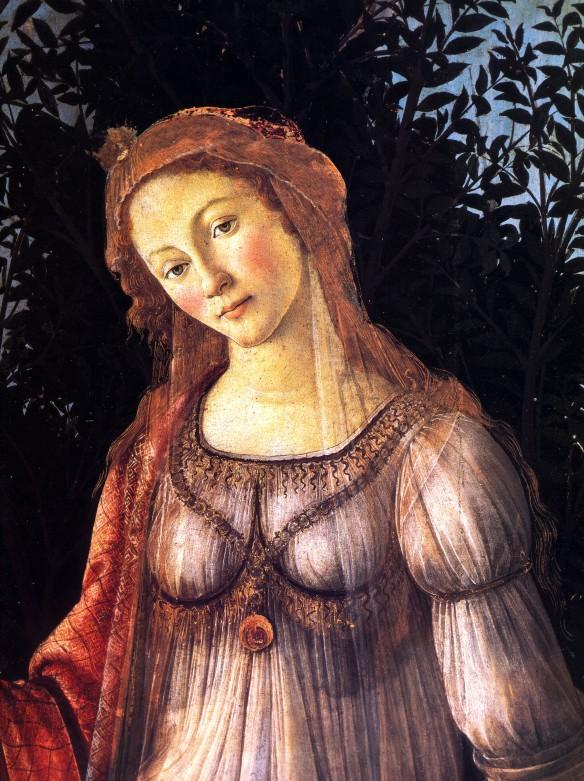 Botticelli's Primavera - Detail