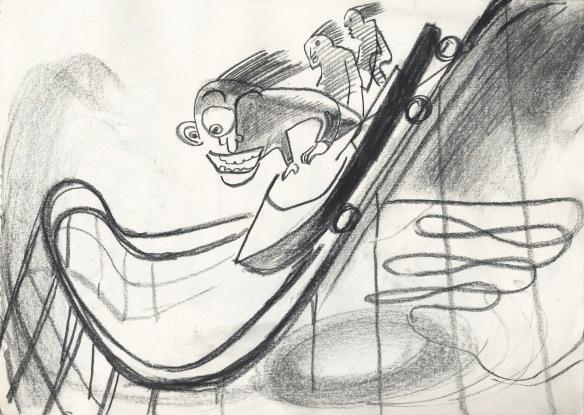 Rollercoaster standwave, 1987