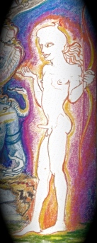 Sacred India Tarot - Kama god of desire