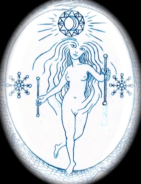 Tarot Arcanum 22 - The World (Yesod Malkuth path - Moon/Earth: the root)