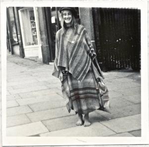 Jane in Goldhurst Terrace circa 1972