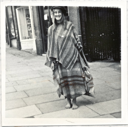 Jane in Goldhurst Terrace circa 1972
