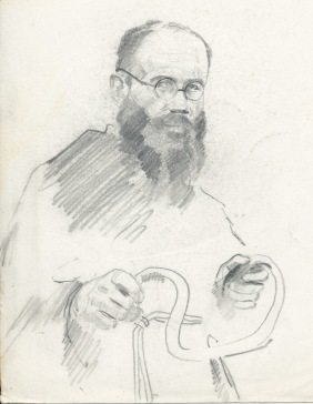 Saint on bike - Maximilian Kolbe